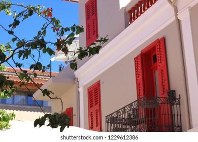 Street of Nafplio, Greece