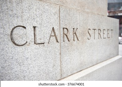 Street Name on Wall