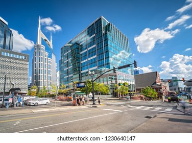 Street in Nashville, TN