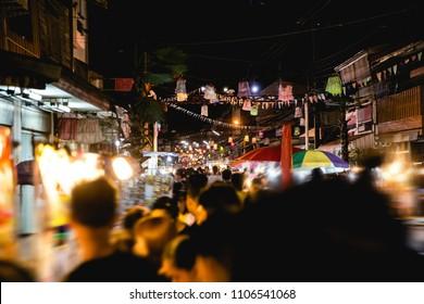 street night market