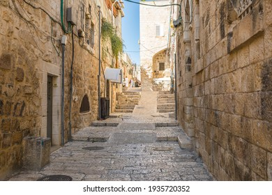 Street in the Old City of Jerusalem, Israel