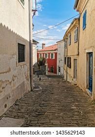 street in old town in croatia