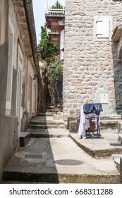 Street in Old Town Kotor