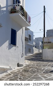Street in Paros island, Cyclades, Greece