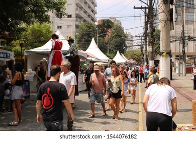 street party of the German culture that takes place every year on Joaquim Nabuco street in the brooklin district of São paulo capital photograph taken Saturday, 26 October 2019