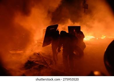street protests in Kiev