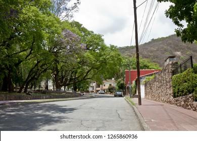 Street in Salta, Argentina