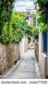 street in San Tropez, Cote d'azur , France
