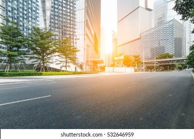 street scene in Guangzhou,China.