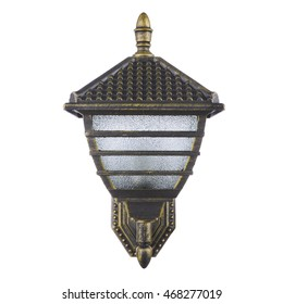 street sconce isolated
