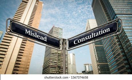 Street Sign Consultation versus Mislead