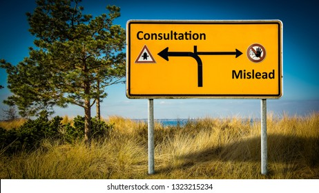Street Sign Consultation vs Mislead