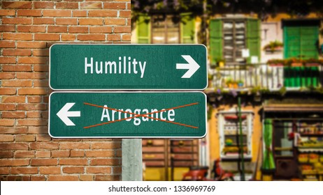 Street Sign to Humility