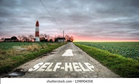Street Sign to Self Help