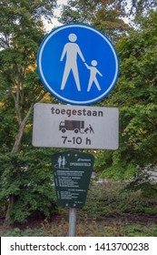 Street Signs At Apeldoorn The Netherlands 2018