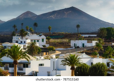 Street sketches in the village of Yaiza. Lanzarote. Canary Islands. Spain