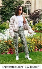 Street Style, Spring Summer 2020, Paris Fashion Week, France, 25, 09, 2019 Aimee Song, Maison Margiela