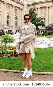Street Style, Spring Summer 2020, Paris Fashion Week, France, 25, 09, 2019 nayoung kim, Maison Margiela