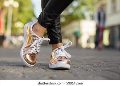 Street style women shoes