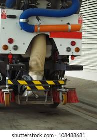 Street Sweeper. Rear view.