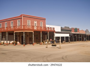 Street at Tombstone, Arizona