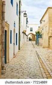 Street in Tunisia.