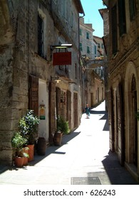 Street in Tuscan Hill-town