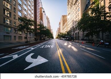 Street in the Upper East Side, in Manhattan, New York.