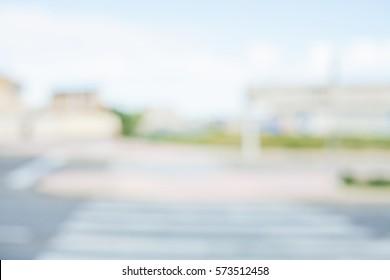 street urban blurred background