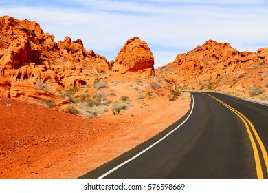 Street in the Valley of Fire
