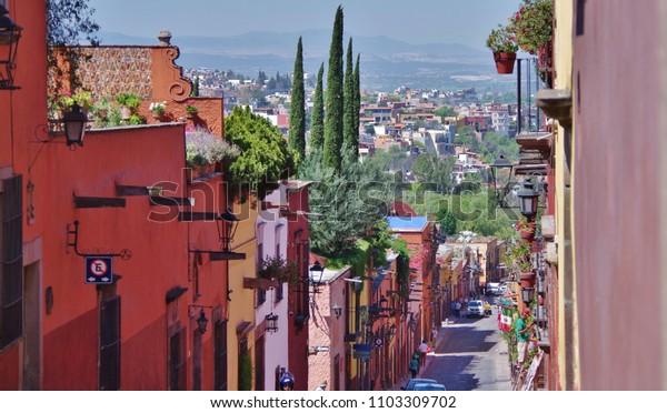 Street Valley View