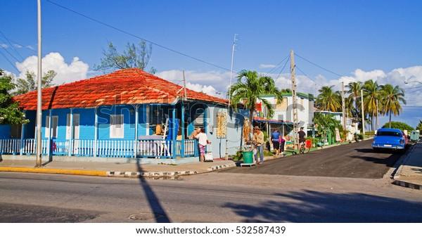 Straße in Varadero, Kuba