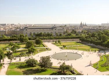 Street view of Paris, France