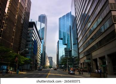 street view, Toronto, Canada