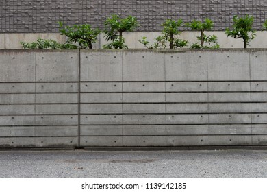 street wall background ,Industrial background, empty grunge urban street with warehouse brick wall