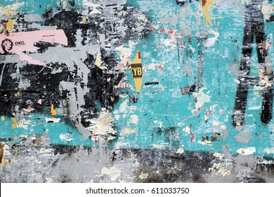 Street wall texture