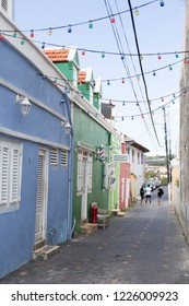 Street in Willemstad, Curacao