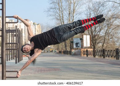 street workout with silver bullet