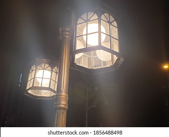 streetlamp, light so bright and peace