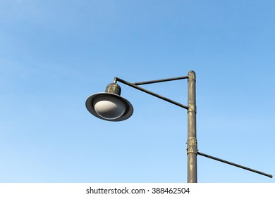Streetlight at the day