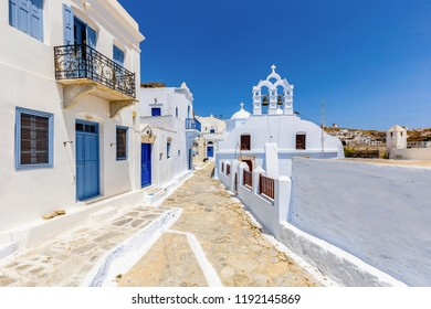 Streets at Amorgos Island