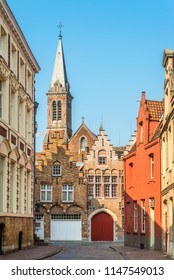 In the streets of Bruges - Belgium
