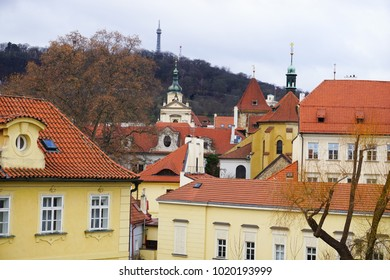 Streets And Buildings Of The Historic Centre of Prague UNESCO Site