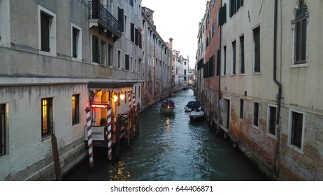 Streets and channels in Venice