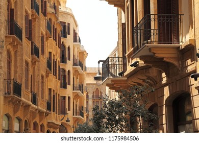 The streets of downtown Beirut , Lebanon