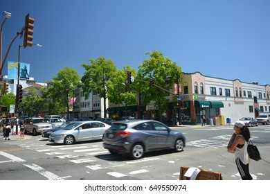 Streets Impressions from Berkeley from April 30, 2017, California USA