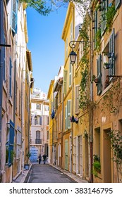 Streets in Marseille, Provence, France