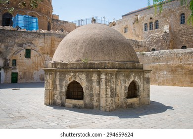 the streets of the old city of Jerusalem