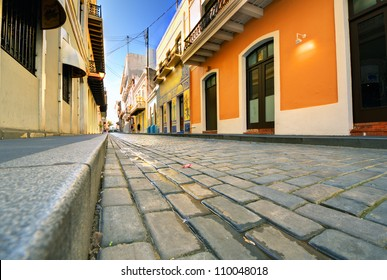 Streets of the Old City of San Juan, Puerto Rico