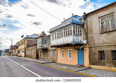 Streets of Qirmizi Qesebe, Quba - a rural city at the foot of the Caucasus mountain